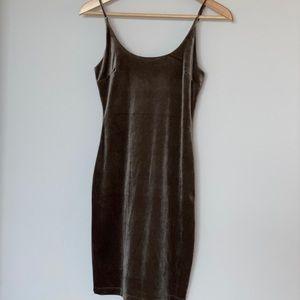 NWOT Windsor velvet bodycon dress